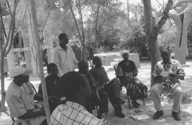 Workshop in Bandiagora, Mali