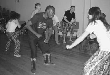 Workshop: traditional danse from Tanzania